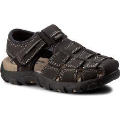Sandały GEOX - J S.Strada C J7224C 05011 C0196  Coffee/Black. Brązowe sandały męskie skórzane marki Geox. W wyprzedaży za 169,00 zł.