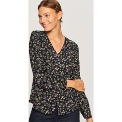 Koszula we wzory - Czarny. Czarne koszule damskie marki Reserved. W wyprzedaży za 39,99 zł.