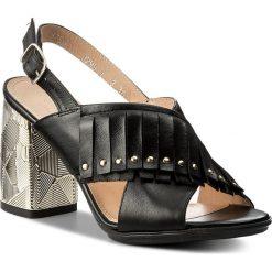 Rzymianki damskie: Sandały ANN MEX – 8755 01S Czarny