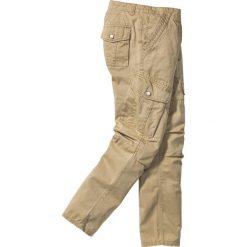 Bojówki męskie: Spodnie bojówki Regular Fit bonprix beżowy