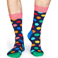 Happy Socks - Skarpety. Szare skarpetki męskie Happy Socks, z bawełny. Za 34,90 zł.