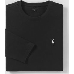 T-shirt z długim rękawem. Czarne podkoszulki męskie Polo Ralph Lauren, l, z długim rękawem. Za 251,96 zł.