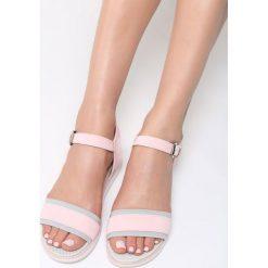 Różowe Sandały Imperturbable. Czerwone sandały damskie vices, na płaskiej podeszwie. Za 54,99 zł.