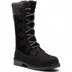 Śniegowce KAMIK - Takoda WK4027 Black. Czarne buty zimowe damskie Kamik, z materiału. W wyprzedaży za 279,00 zł.