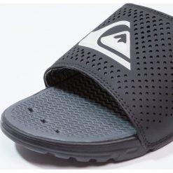 Quiksilver AMPHIBIAN  Sandały kąpielowe black/white. Czarne kąpielówki męskie Quiksilver, m, z materiału. W wyprzedaży za 135,20 zł.