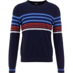 PS by Paul Smith MENS CREW NECK Sweter inky. Niebieskie swetry klasyczne męskie PS by Paul Smith, m, z bawełny. Za 799,00 zł.