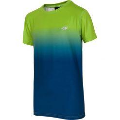 Bluzki dziewczęce: Koszulka sportowa dla dużych chłopców JTSM408 – soczysta zieleń