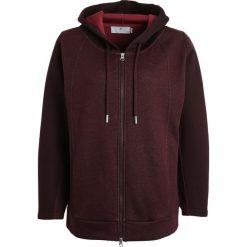 Adidas by Stella McCartney Bluza rozpinana bordeaux. Czerwone bluzy damskie adidas by Stella McCartney, l, z bawełny. W wyprzedaży za 399,20 zł.