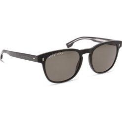 Okulary przeciwsłoneczne BOSS - 0927/S Matt Black 003. Czarne okulary przeciwsłoneczne męskie aviatory Boss, z tworzywa sztucznego. W wyprzedaży za 489,00 zł.