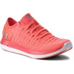 Buty UNDER ARMOUR - Ua W Slingride 2 3020358-601 Red. Czerwone buty do biegania damskie marki Under Armour, z materiału. W wyprzedaży za 289,00 zł.
