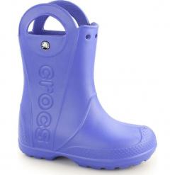Buty dziecięce Handle Rain Boot cerulean blue r. 26 (12803). Niebieskie buciki niemowlęce marki Crocs. Za 100,95 zł.