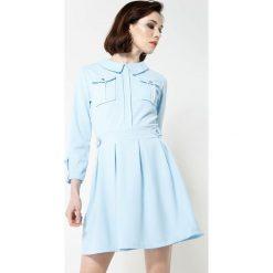Niebieska Sukienka Believe It. Niebieskie sukienki other, uniwersalny, mini. Za 74,99 zł.
