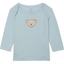 Koszulka w kolorze błękitnym. Białe t-shirty chłopięce z długim rękawem marki UP ALL NIGHT, z bawełny. W wyprzedaży za 42,95 zł.
