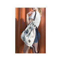 Plecaki damskie: plecak w czarne JASKÓŁKI