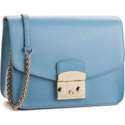 Torebka FURLA - Metropolis 962699 B BNF8 ARE Veronica e. Niebieskie torebki klasyczne damskie Furla, ze skóry. W wyprzedaży za 1079,00 zł.