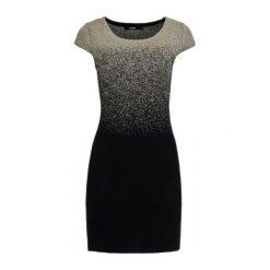 Desigual Sukienka Damska Heather S Szary. Szare sukienki marki Desigual, l, z tkaniny, casualowe, z długim rękawem. W wyprzedaży za 269,00 zł.