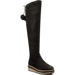 Buty zimowe damskie: Muszkieterki TAMARIS – 1-25623-29 Black 001
