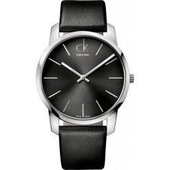 ZEGAREK CALVIN KLEIN CITY GENT K2G21107. Czarne zegarki męskie marki Calvin Klein, szklane. Za 739,00 zł.