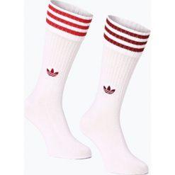 Skarpetki męskie: adidas Originals - Skarpety męskie pakowane po 2 szt., czerwony