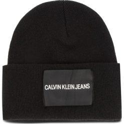 Czapka CALVIN KLEIN JEANS - J Calvin Klein Jeans K40K400759 001. Czarne czapki zimowe damskie Calvin Klein Jeans, z jeansu. Za 179,00 zł.