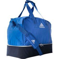 Torby podróżne: Adidas Torba Tiro 17 Team Bag M z dolną komorą niebieska (BS4752)