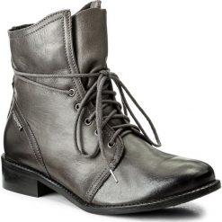 Botki LASOCKI - 60724-02 Szary. Szare buty zimowe damskie Lasocki, ze skóry. Za 249,99 zł.