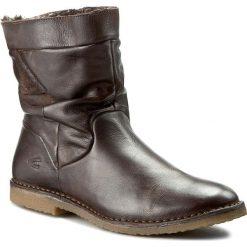 Botki CAMEL ACTIVE - Vienna 809.72.02 W-Peat. Brązowe buty zimowe damskie marki Camel Active, ze skóry. W wyprzedaży za 299,00 zł.