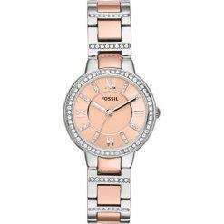 Fossil - Zegarek ES3405. Różowe zegarki damskie marki Fossil, szklane. Za 469,90 zł.