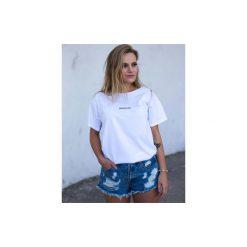 MINIMALISM t-shirt oversize. Białe t-shirty damskie Gau great as you, l, z bawełny. Za 99,00 zł.