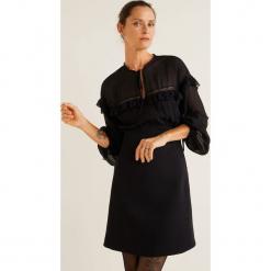 Mango - Sukienka Candy. Szare długie sukienki marki Mango, na co dzień, l, z tkaniny, casualowe, z dekoltem halter, na ramiączkach, rozkloszowane. Za 229,90 zł.