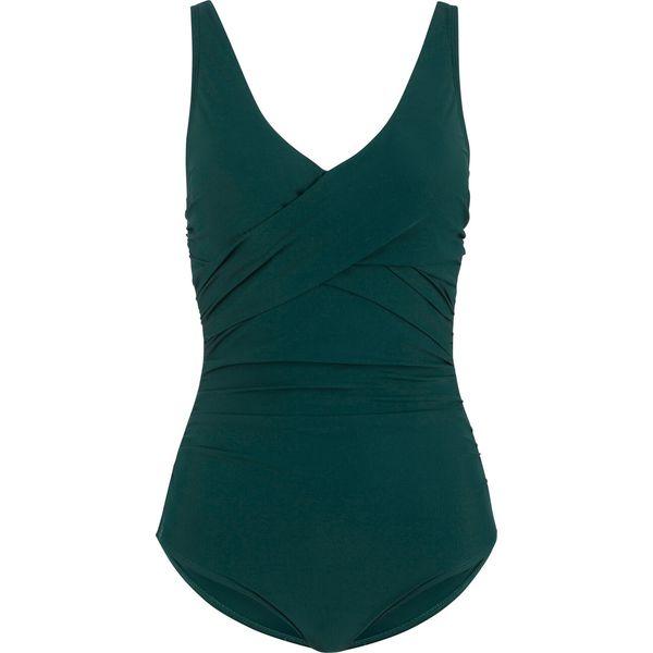 73e0209b3c3a Kostium kąpielowy wyszczuplający bonprix zielony - Zielone stroje ...