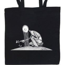 Shopper bag damskie: Kwiat – torba (2 kolory)