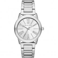 """Zegarek kwarcowy """"Hartman"""" w kolorze srebrnym. Szare, analogowe zegarki damskie marki Michael Kors, srebrne. W wyprzedaży za 522,95 zł."""