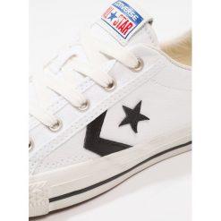 Converse STAR PLAYER HERITAGE Tenisówki i Trampki white/black/egret. Szare tenisówki damskie marki Converse, z gumy. Za 359,00 zł.