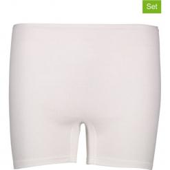 Pełne figi (2 pary) w kolorze białym. Białe figi Schöller, z bawełny. W wyprzedaży za 30,95 zł.