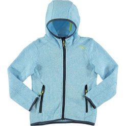 Kurtka polarowa w kolorze błękitnym. Niebieskie kurtki dziewczęce marki CMP Kids, z dzianiny. W wyprzedaży za 79,95 zł.