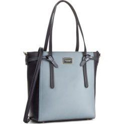 Torebka MONNARI - BAG0550-013 Navy. Szare torebki klasyczne damskie marki Monnari, z materiału, średnie. W wyprzedaży za 149,00 zł.