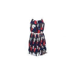 Sukienki krótkie Molly Bracken  MULGURA. Niebieskie sukienki hiszpanki Molly Bracken, l, z krótkim rękawem, mini. Za 167,20 zł.