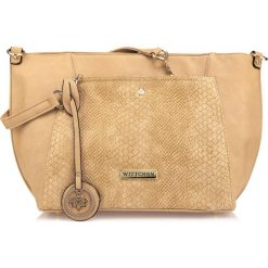 Shopper bag damskie: Torebka damska 85-4Y-750-9