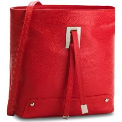 Torebka CREOLE - K10548  Czerwony. Czerwone listonoszki damskie Creole, ze skóry. W wyprzedaży za 159,00 zł.