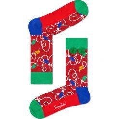 Happy Socks - Skarpety Holiday Gift Box (3-pak). Różowe skarpetki męskie Happy Socks. W wyprzedaży za 79,90 zł.
