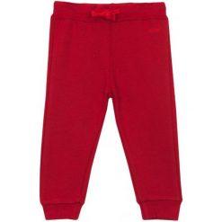 Spodnie niemowlęce: Spodnie dresowe ze ściagaczami dla niemowlaka