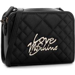 Torebka LOVE MOSCHINO - JC4056PP14LF0000  Nero. Czarne listonoszki damskie Love Moschino. W wyprzedaży za 399,00 zł.