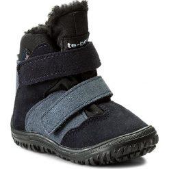 Buty zimowe chłopięce: Śniegowce MRUGAŁA – Iwo 7181-77 Blu