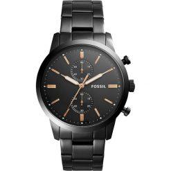 Zegarek FOSSIL - Townsman FS5379 Black/Black. Różowe zegarki męskie marki Fossil, szklane. Za 899,00 zł.