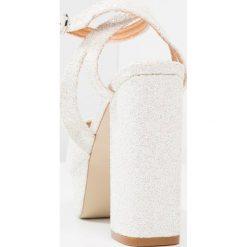 Rzymianki damskie: Be Mine JUNIPER 1 Sandały na obcasie white glitter
