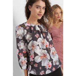 Bluzki damskie: Bluzka w kwiaty
