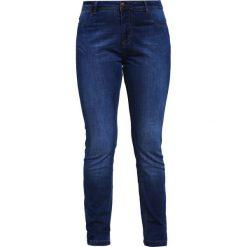 Boyfriendy damskie: Zizzi SANNA Jeansy Slim Fit blue washed