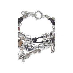Posrebrzana bransoletka z tri-czerwonymi koralikami Murano - 161198. Szare bransoletki damskie z cyrkoniami marki Reserved, srebrne. Za 329,00 zł.