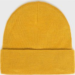 S. Oliver - Czapka. Pomarańczowe czapki zimowe męskie S.Oliver, na zimę, z dzianiny. W wyprzedaży za 69,90 zł.